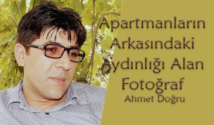 Apartmanların Arkasındaki Aydınlığı Alan Fotoğraf / Ahmet Doğru