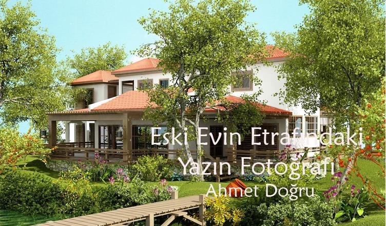 Eski Evin Etrafındaki Yazın Fotoğrafı /Ahmet Doğru