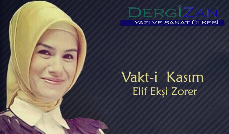 Vakt-i Kasım / Elif Ekşi Zorer