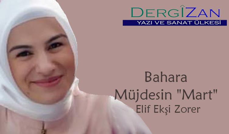 "Bahara Müjdesin ""Mart"" / Elif Ekşi Zorer"