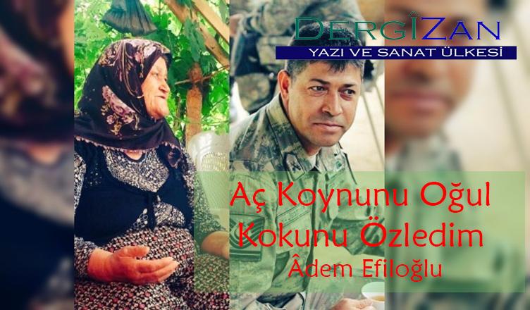 Aç Koynunu Oğul Kokunu Özledim /Âdem Efiloğlu