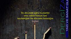 Bu Dünyada Aşkta Kaybeden Ahrette Kaybettiğini Kazanır /  Gürhan Gürses