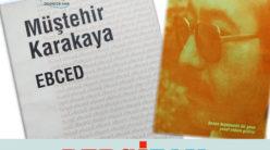 Kendini Çöllere Başıboş Vuracak Şair Yüreğimi Durduran, Mısraları Önümde Dağ Gibi Duran Şair Müştehir Karakaya / Ramazan Seydaoğlu
